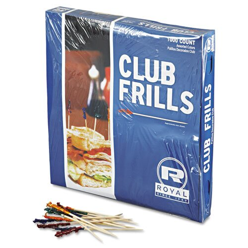 Royal Paper Club Cellophane Frill Pick