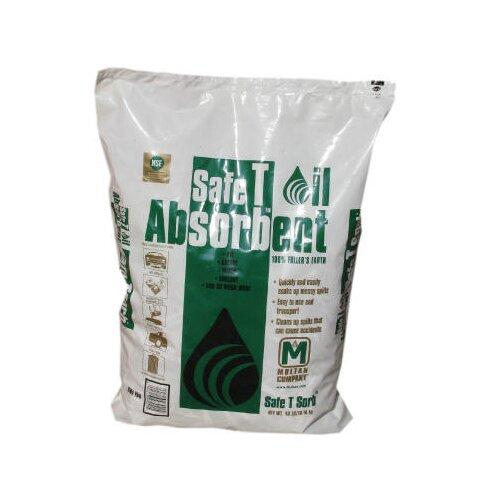 SAFE T SORB™ Clay Absorbent, 40 lbs., Poly-Bag