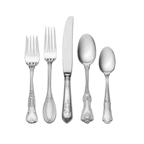 Oneida Louisiana 5 Piece Flatware Set
