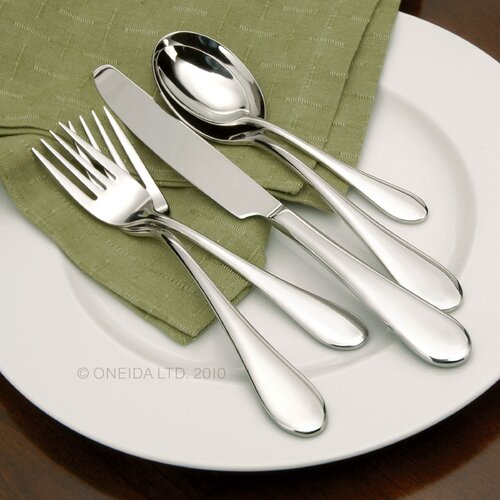 Oneida 45 Piece Icarus Flatware Set
