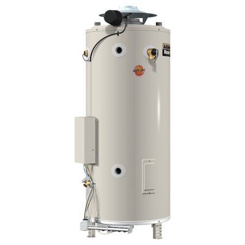 A.O. Smith BTR-200 Commercial Tank Type Water Heater Nat Gas 100 Gal Master-Fit 199,000 BTU Input