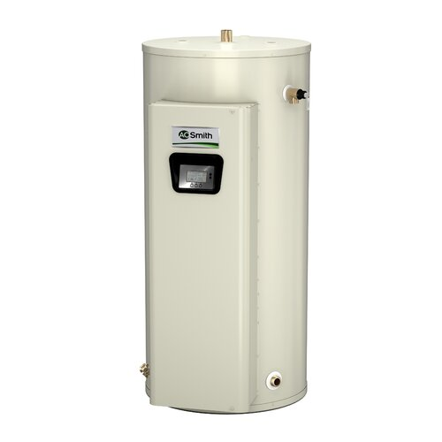 A.O. Smith DVE-120-12 Commercial Tank Type Water Heater Electric 120 Gal Gold Xi Series 12KW Input