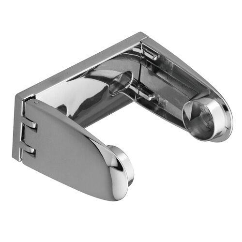 Commercial Toilet Paper Holder in Triple Plated Polished Chrome