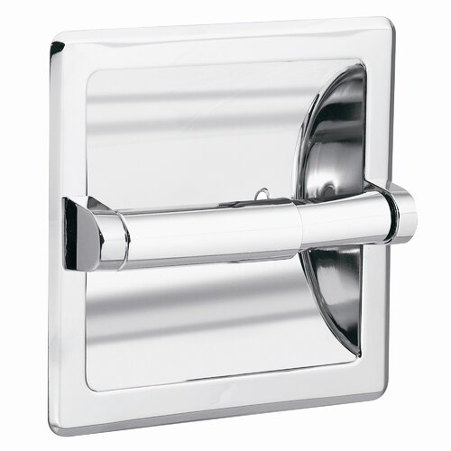 Creative Specialties by Moen Commercial Recessed Toilet Paper Holder in Polished Chrome