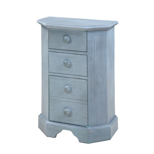 Gail's Accents Cottage 3 Drawer Side Chest