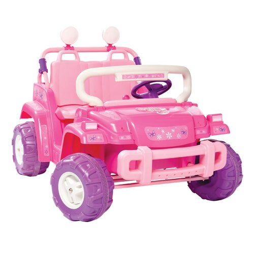 Kidz Motorz Surfer Girl 12V Battery Powered Jeep