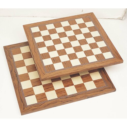 Chess Board in Brown & White