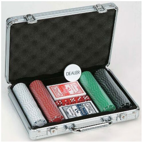 CHH 200 Piece 11.5g Poker Set with Aluminum Case