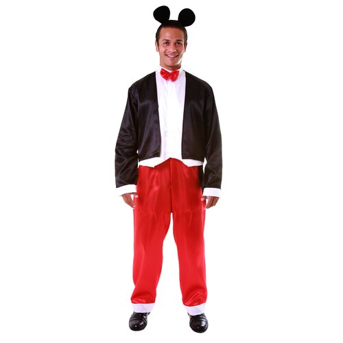 Dress Up America Deluxe Adult's Mickey Mouse Adult's Costume