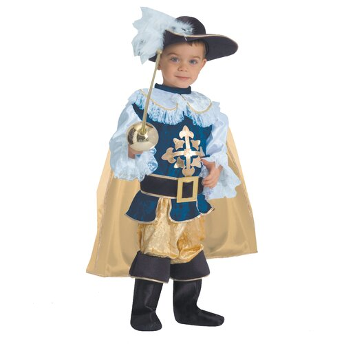Dress Up America Deluxe Musketeer Children's Costume