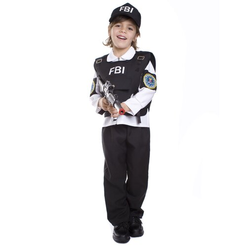 Dress Up America FBI Agent Children's Costume