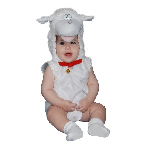 Dress Up America Baby Plush Lamb Costume