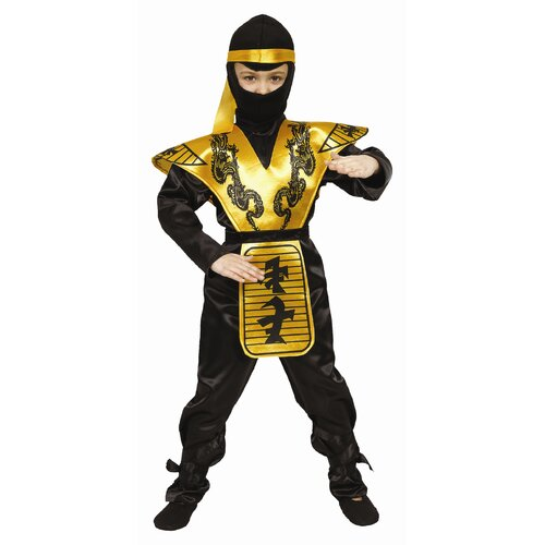 Dress Up America Deluxe Ninja Children's Costume Set