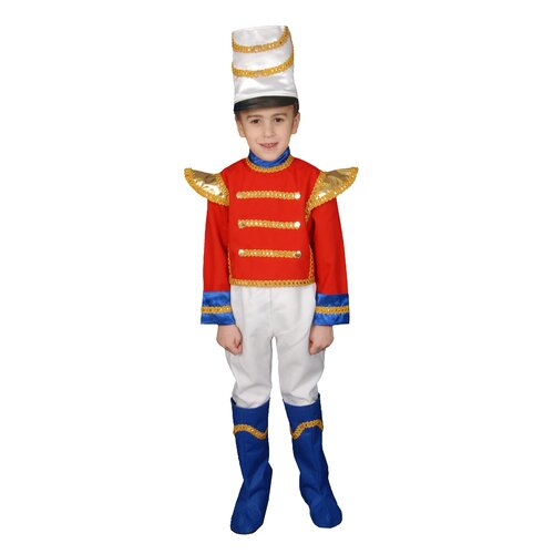 Dress Up America Toy Soldier Children's Costume Set