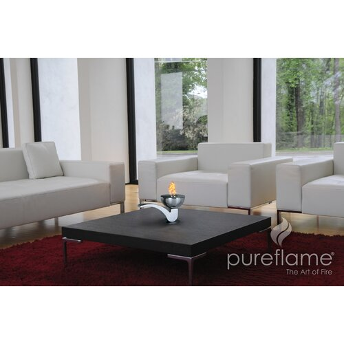 PureFlame Pipe Table Top Fireplace
