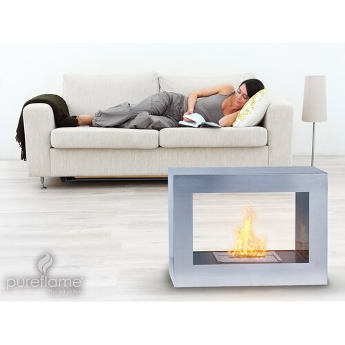 Aquafires Window Bio-fuel Fireplace