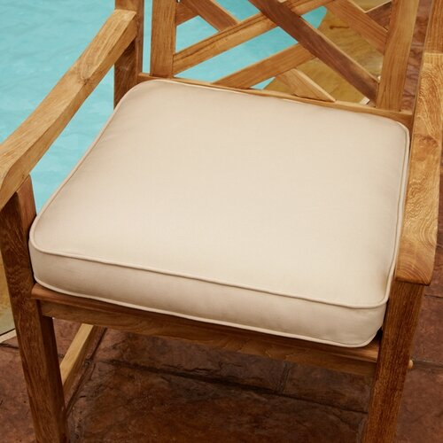 Indoor/Outdoor Corded Chair Cushion