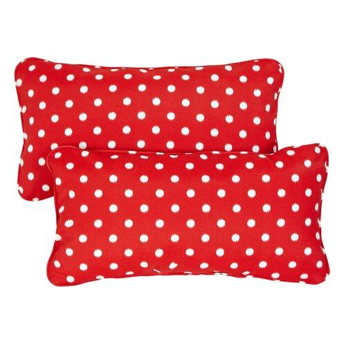 Corded Lumbar Throw Pillows (Set of 2)