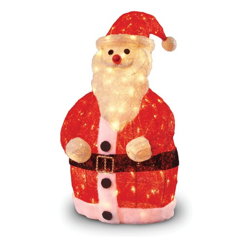 National Tree Co. Pre-Lit Santa Clause Christmas Decoration