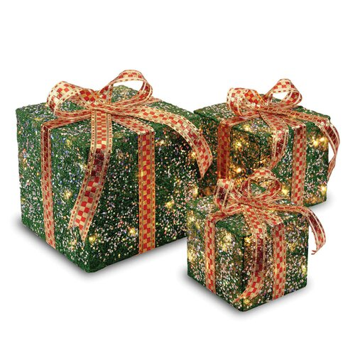 National Tree Co. Gift Boxes Christmas Decoration