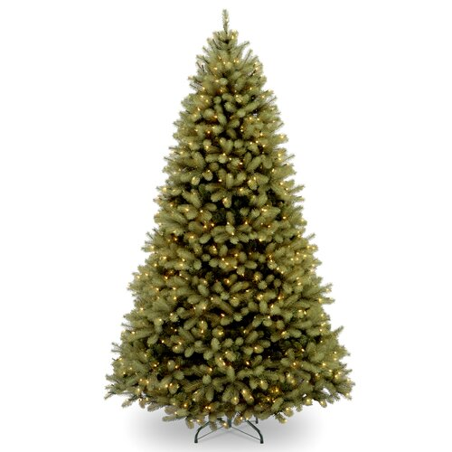Douglas 6' Green Fir Artificial Christmas Tree with 600 Clear Lights and Stand