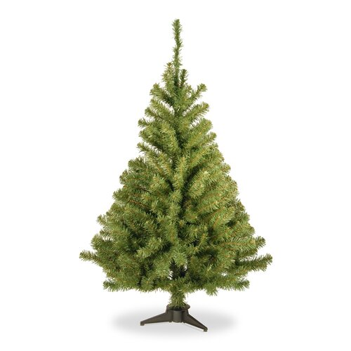 Kincaid Spruce 4' Green Artificial Christmas Tree with Stand