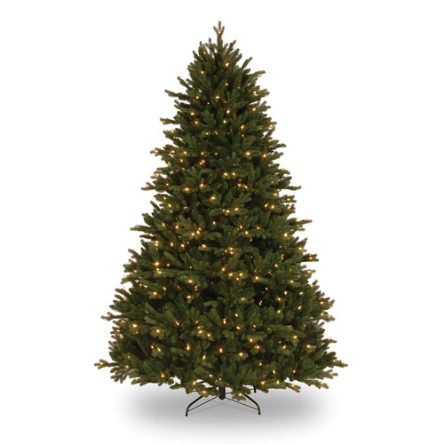 National Tree Co. Royal Fir 7.5' GreenArtificial Christmas Tree with 750 Pre-Lit Clear Lights with Stand