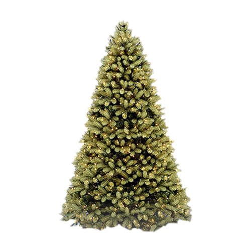 National Tree Co. Douglas Fir 9' Green Evergreen Fir Artificial Christmas Tree with 900 Pre-Lit Clear Lights with Stand