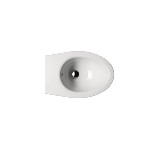 GSI Collection City Contemporary Round Wall Mount Bidet