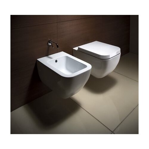 GSI Collection Traccia Contemporary Ceramic Round 1 Piece Toilet