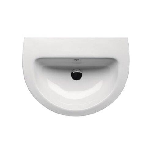 City Modern Curved Bathroom Sink