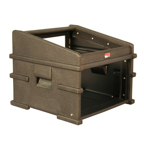 Gator Cases Slant Top Console Rack 10U Top 6U Side DJ Station