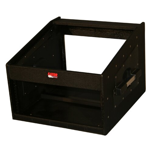 Gator Cases Slant Top Wood Console Audio Rack