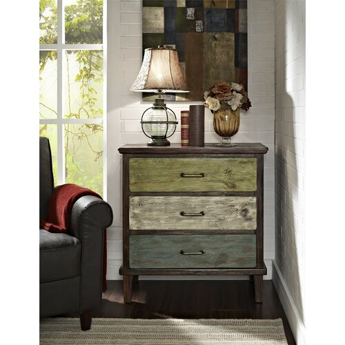 Altra Furniture Sage 3 Drawer Storage Table