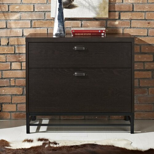 Stratton 2 Drawer Lateral File Cabinet