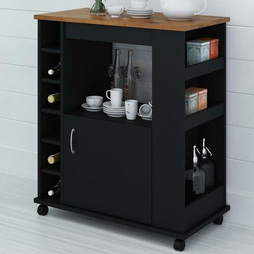 Small Storage Kitchen Cart Wayfair