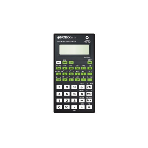 Datexx 136 Functions 8 2 Digit Scientific Calculator