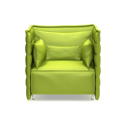 Vitra Alcove Plume Fauteuil Chair with Armrest Cushion Set