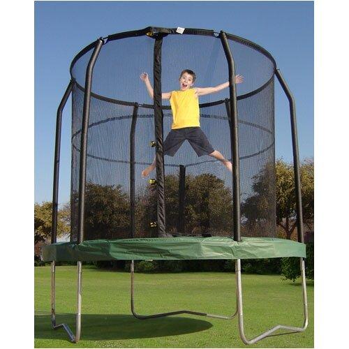 Bazoongi Kids JumpPod 7.5' Trampoline With Enclosure