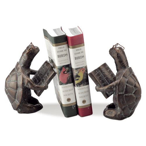 SPI Home Scholarly Turtle Book Ends