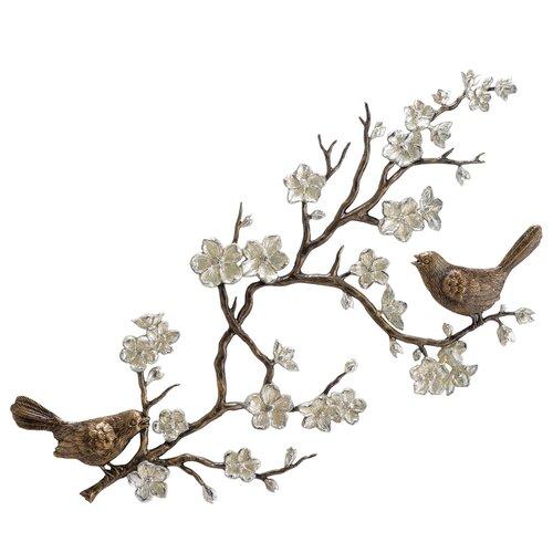 SPI Home Birds and Blossom Wall Décor