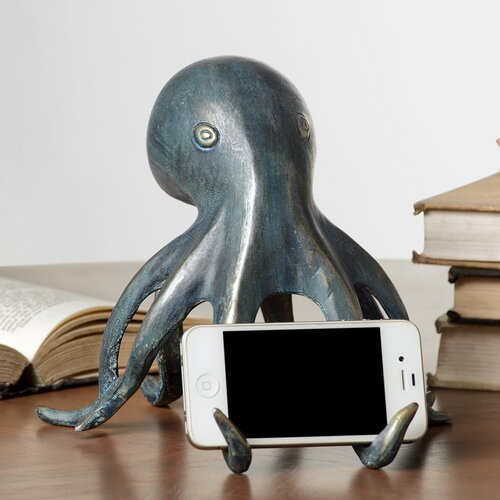 Octopus Cell Phone Holder with Bluetooth Speaker