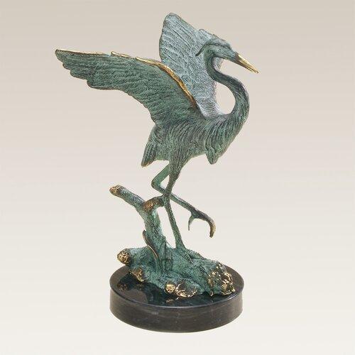 SPI Home Single Heron Figurine