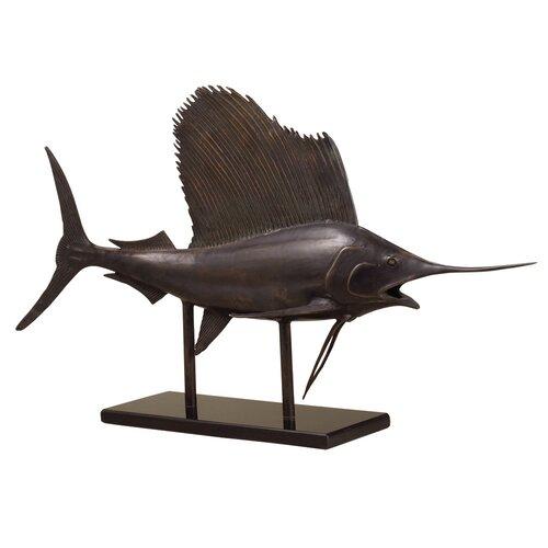 SPI Home Museum Sailfish Statue