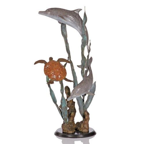Aquatic Encounter Statue