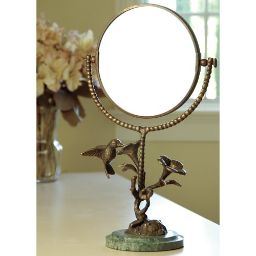 SPI Home Bird Humming and Flower Mirror