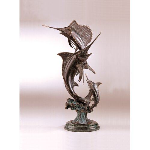 SPI Home Grand Slam Marlin and Sailfish Statue