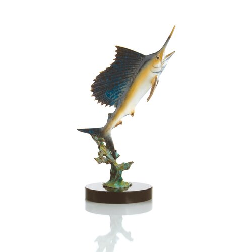 SPI Home Blue Water for Sale Sailfish Figurine