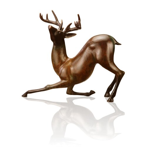 SPI Home Contemporary Deer Sculpture