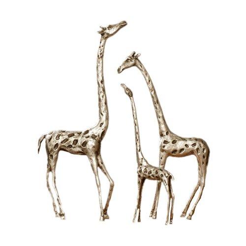 SPI Home 3 Piece Giraffe Family Figurine Set
